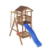 Ігровий майданчик з дерева Вежа-4
