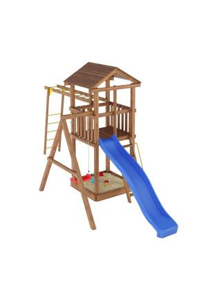 Игровая площадка из дерева Башня-4