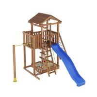 Ігровий майданчик з дерева Вежа-5