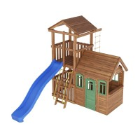 Ігровий майданчик з дерева Вежа-6