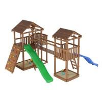 Ігровий майданчик з дерева Вежа-8