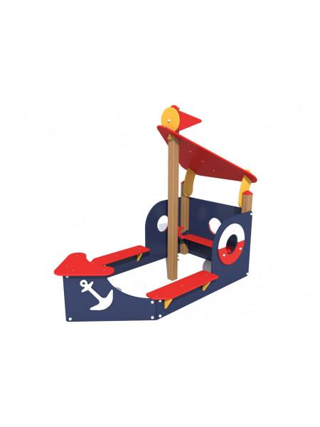 Пісочниця для дитячого садка Баркас
